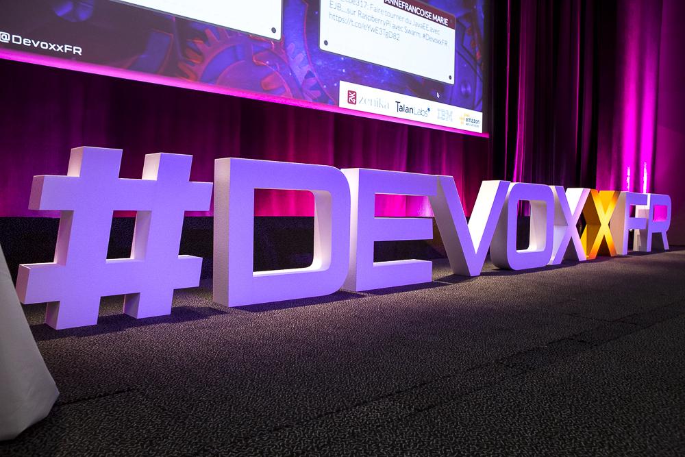 DevoxxFR 2016. Photo: DevoxxFR