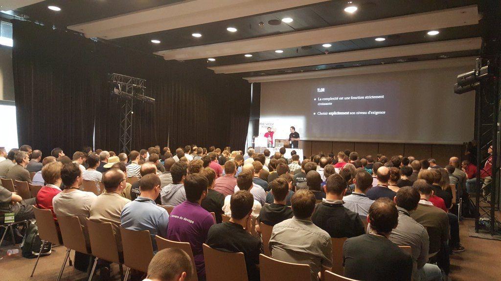 Yann Schwartz & Serge Danzanvilliers presenting Streaming in Criteo