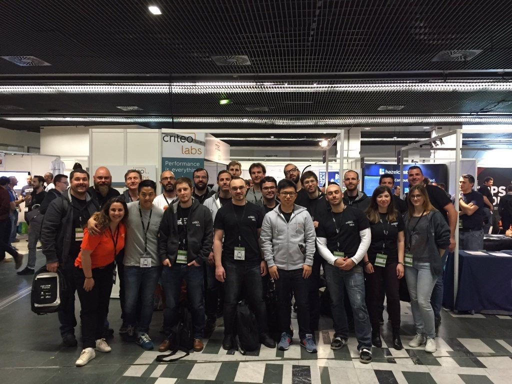 Our engineers at DevoxxFR 2016
