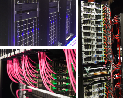 A few pictures from our beautiful servers and racks