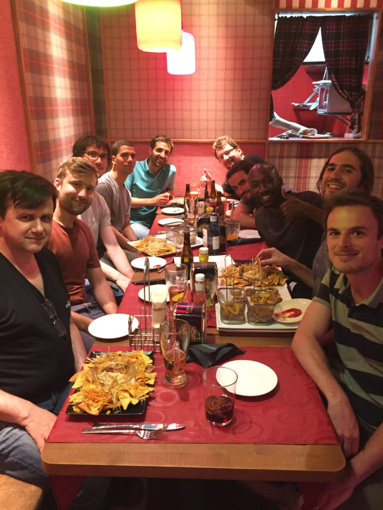 Our Criteo Labs team @ Europython '16